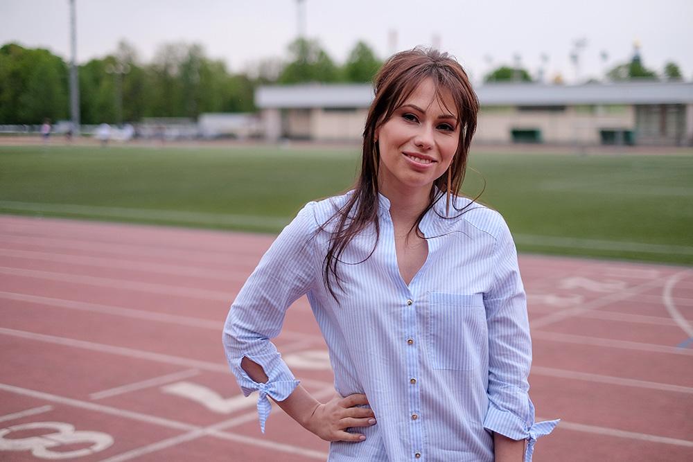ماریا کوماندنایا مجری برنامه قرعه کشی جام جهانی 2018 روسیه