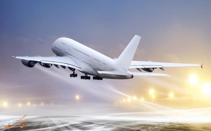دلیل سفید بودن هواپیما