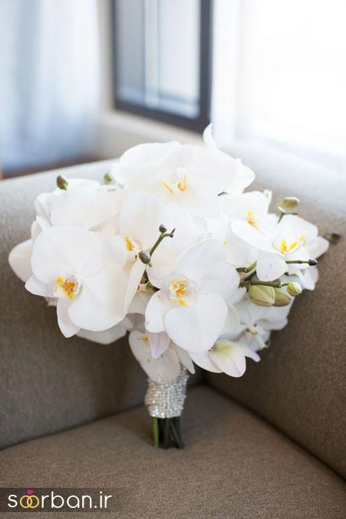دسته گل عروس ارکیده3