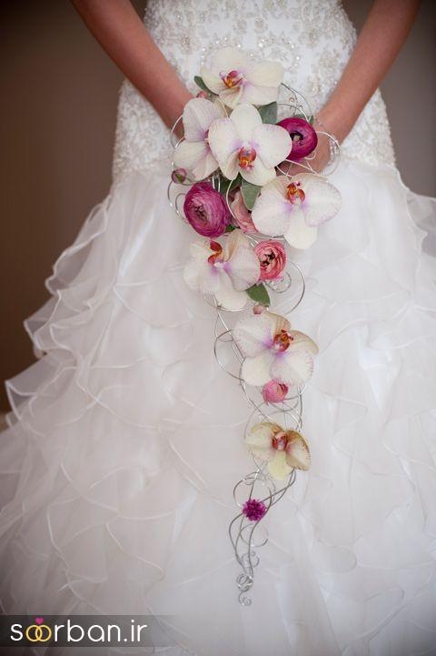 دسته گل عروس ارکیده6