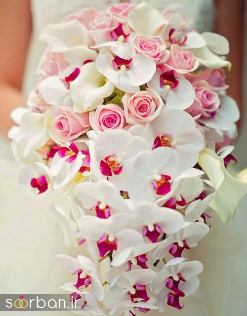 دسته گل عروس ارکیده8