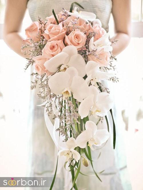 دسته گل عروس ارکیده14