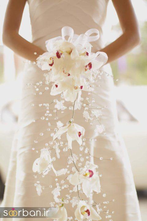 دسته گل عروس ارکیده19