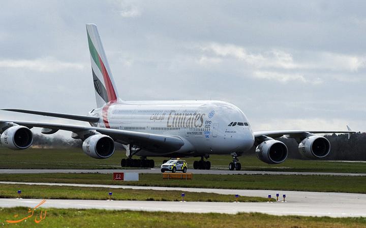هواپیما در فرودگاه