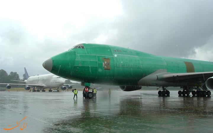 هواپیمای رنگی