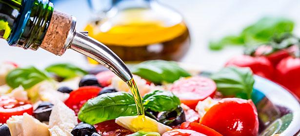 استفاده از روغن زیتون در آشپزی