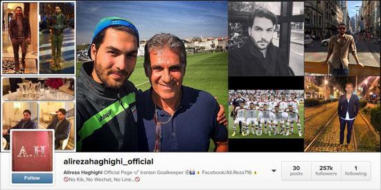 محبوب ترین ورزشکاران ایرانی در اینستاگرام