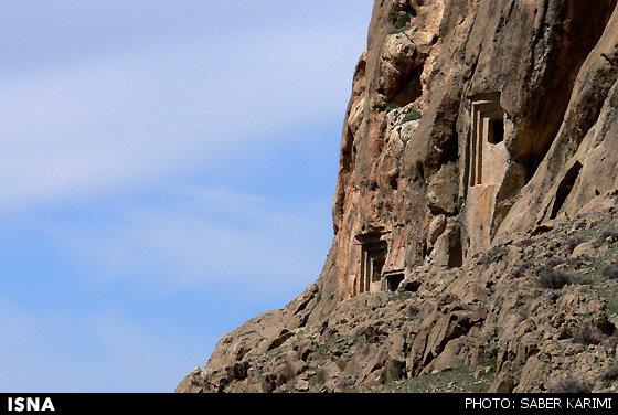 فرهاد تاش آثار باستانی هرسین کرمانشاه