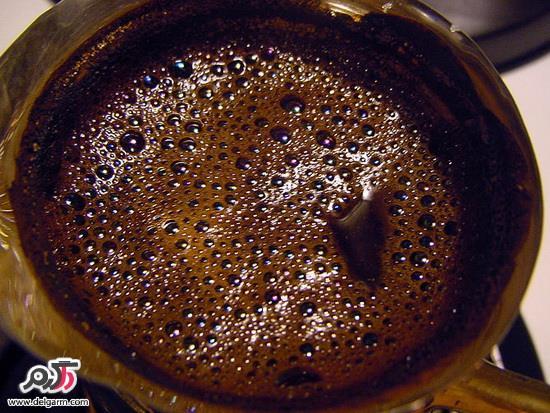 آموزش درست کردن قهوه ترک و دم کردن قهوه ترک