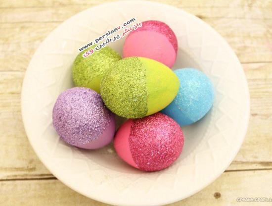 14 ایده زیبا برای تزئین تخم مرغ نوروزی