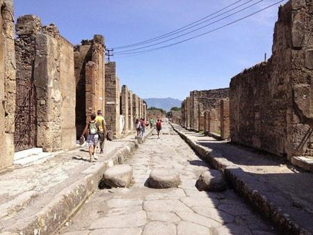 شهر باستانی پمپی,تصاویر شهر باستانی پمپی,عکس های شهر باستانی پمپی