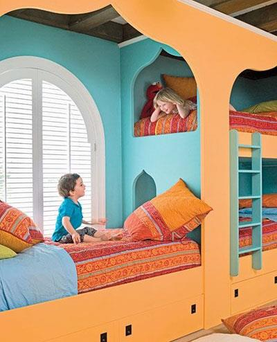 چیدمان اتاق کودک,دکوراسیون رویایی اتاق کودک