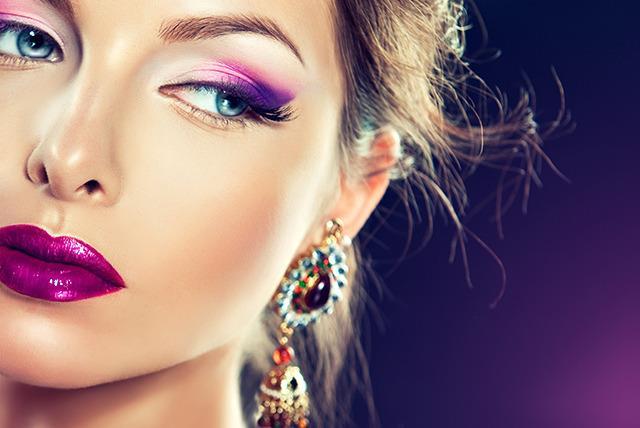 آموزش روش گریم و آرایش صورت متناسب با فرم صورت