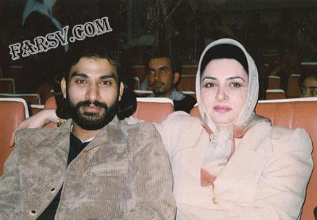 ناصر عبداللهی و همسرش