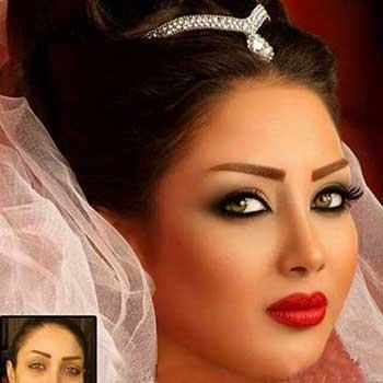 مدل های آرایش عروس, مدل آرایش عروس 2015, آرایش عروس