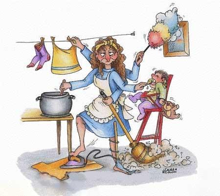 کاریکاتور روز زن, تصاویر خنده دار