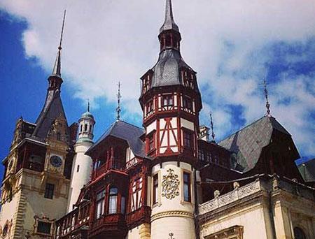 """قلعه """"پلس"""" در رومانی,جالبترین قلعه های دنیا,زیباترین قلعه های دنیا"""