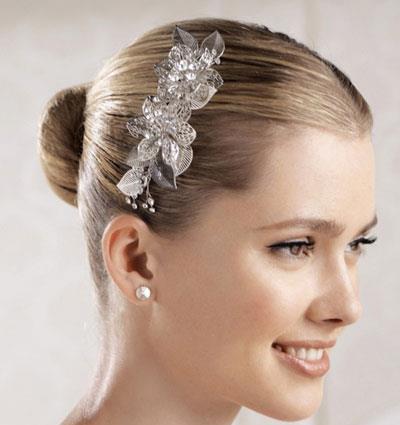 مدل گل سر عروس,شیک ترین مدل گل سر