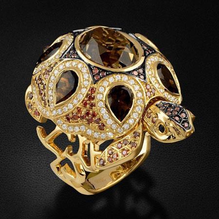 مدل انگشترهای جواهر,انگشتر به شکل حیوانات