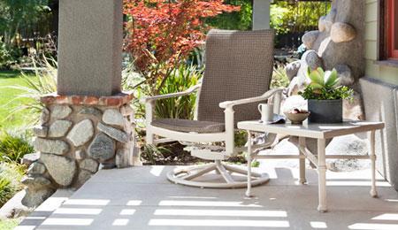 میز و صندلی غذاخوری فلزی,طراحی مبلمان حیاط