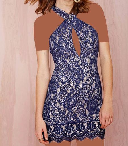 مدل لباس مجلسی Nasty Gal, لباس مجلسی کوتاه