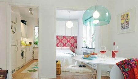 دکوراسیون آپارتمان های کوچک,شیک ترین چیدمان خانه های کوچک