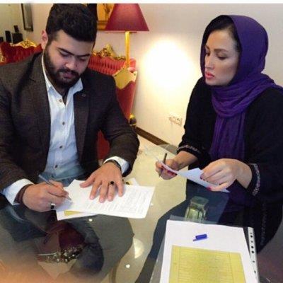 حضور بازیگر مشهور زن در کلاسهای بدنساز بزرگ آمریکایی در تهران