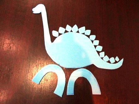 دایناسور,کاردستی دایناسور