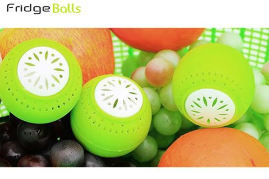 توپ بوگیر میوه و سبزیجات داخل یخچال