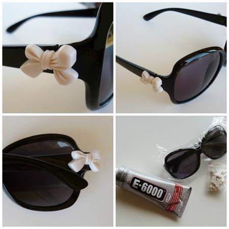 نحوه تزیین عینک,طرحدار کردن عینک آفتابی