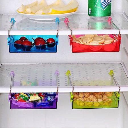 کشو پرتابل قابل نصب در زیر میز شیشه ای و یخچال