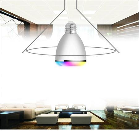 اسپیکر بلوتوث با ریموت کنترل و LED