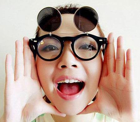 عینک,عینک دخترانه