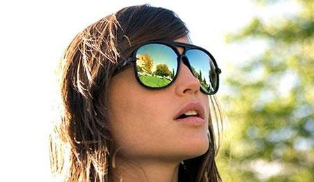 عینک آفتابی,عینک آفتابی زنانه