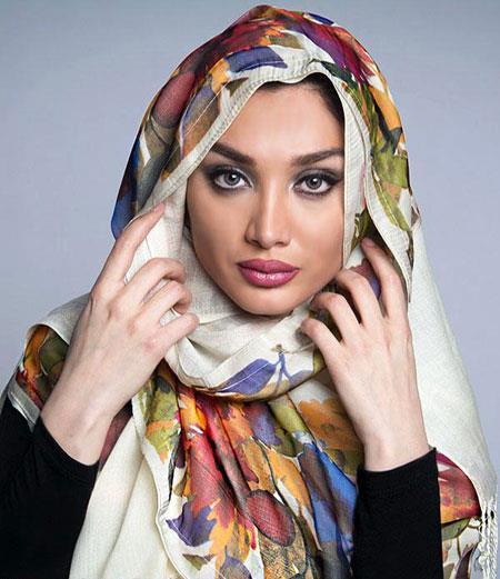 مدل شال و روسری,جدیدترین شال و روسری,شال و روسری 95