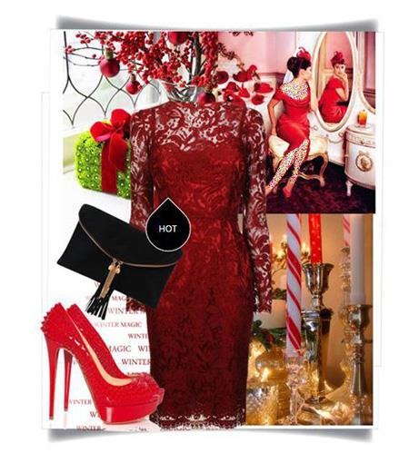 ست کردن لباس شب قرمز, اصول ست کردن لباس شب به سبک پنه لوپه کروز