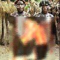 مردان و زنان در این قبیله برهنه هستند + عکس