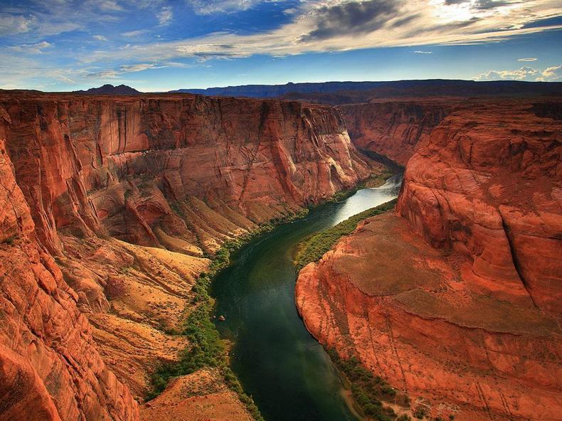 بهترین مکان های طبیعی برای گردشگران جهان
