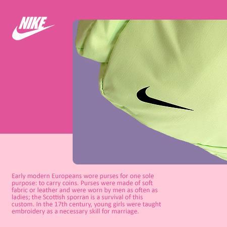 کیف دخترانه نایک