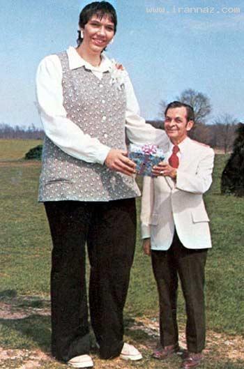 عکس های بزرگترین مرد و زن جهان
