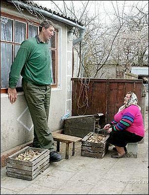 بلندترین مرد جهان٬ بلندقدترین زن و مرد جهان٬ ترین
