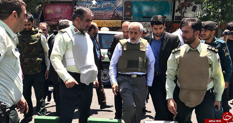 تیراندازی افراد ناشناس در راهروهای مجلس و حرم امام راحل/ دو نفر در جریان تیراندازی مجلس شهید شدند/یک ضارب در حرم خود را منفجر کرد/ در صورت مشاهده افراد مشکوک با 113 تماس بگیرید + فیلم