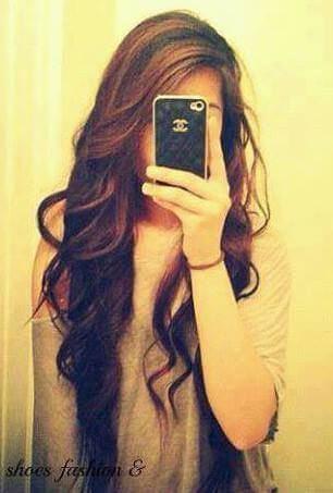 عکس پروفایل دخترونه مو بلند عکس گرفتن با موبایل آیفون