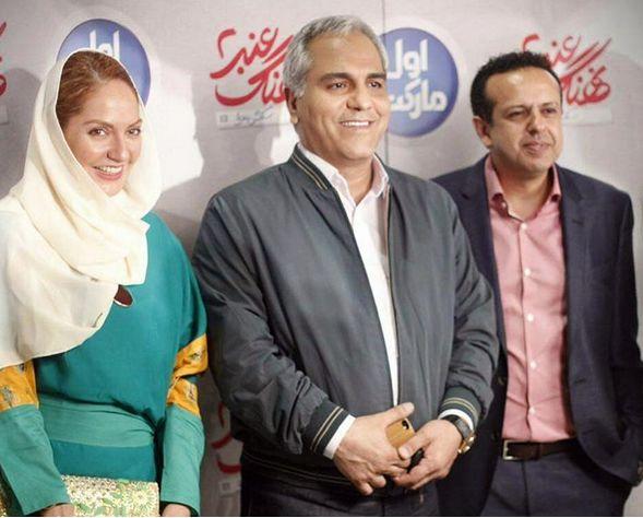 جدید ترین عکس های مهران مدیری با مهناز افشار