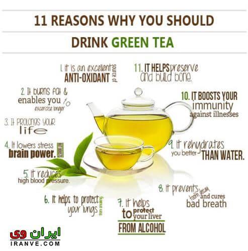 خواص چای سیاه و فواید دیگر چای سبز