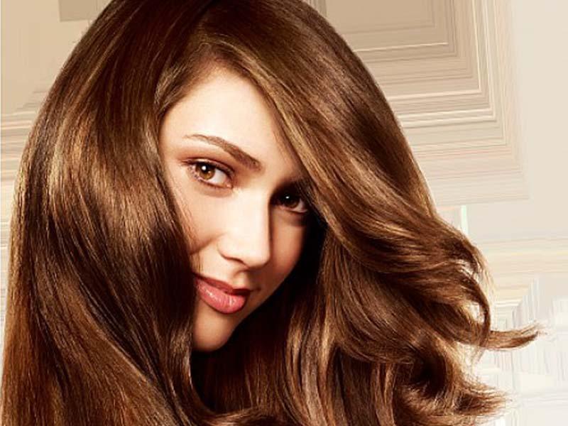 رنگ موی طبیعی قهوه ای تیره