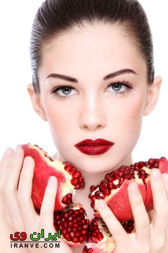 فواید انار برای پوست صورت