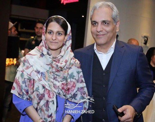 جدیدترین عکس مهران مدیری با دخترش
