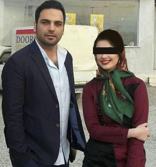 عکس احسان علیخانی و همسرش