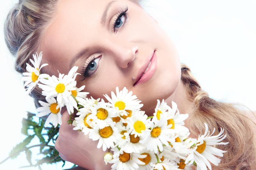 خاصیت گل بابونه برای پوست صورت
